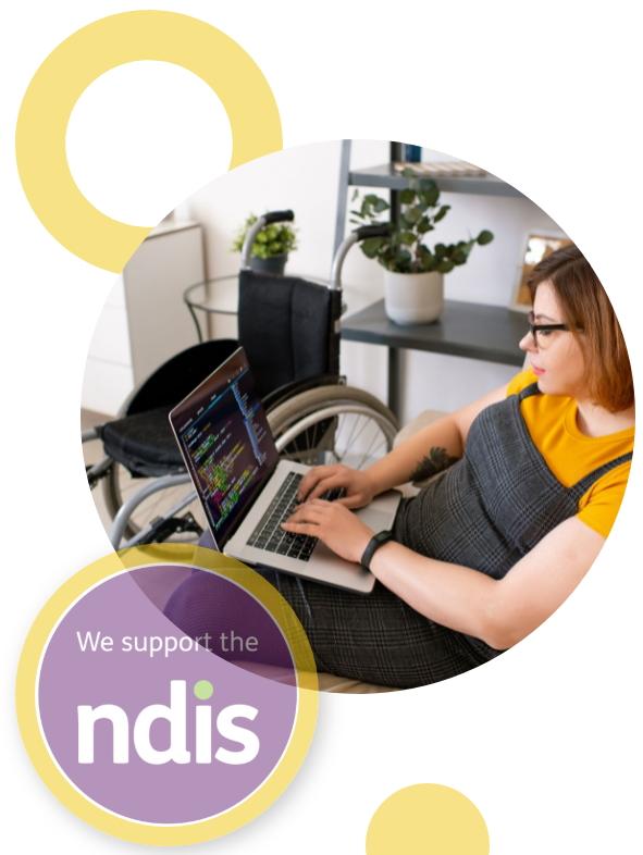 NDIS woman